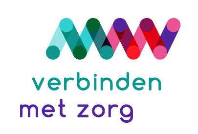 Logo verbinden met zorg footer